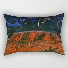 Uluru by Night Rectangular Pillow
