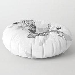 KungFu Zodiac - Tiger and Rabbit Floor Pillow