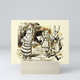 Giving the King a Ham Sandwich Mini Art Print