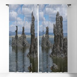 Tuff Area At Mono Lake Blackout Curtain