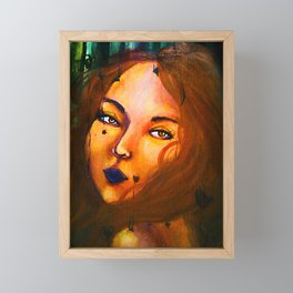 Valencia Portrait Framed Mini Art Print
