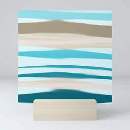 Sandbanks Mini Art Print
