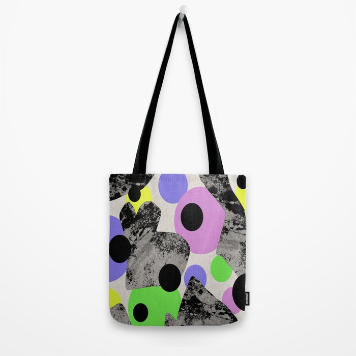 Pastels and Textures Tote Bag