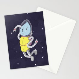 Astro alien Stationery Cards