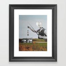 L'appât Framed Art Print