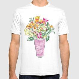 Smoothie & Bouquet T-shirt