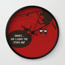 Chimichangas Wall Clock