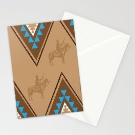 American Native Pattern No. 91 Stationery Cards