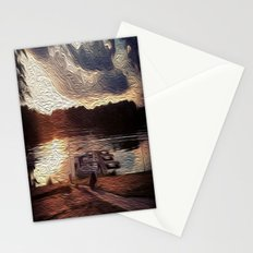 Oily Pontoons Stationery Cards