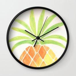 Have a half a pinya! Wall Clock