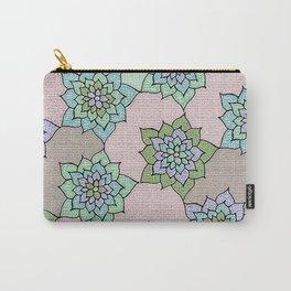 zakiaz lotus design Carry-All Pouch