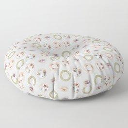 High Tea Floor Pillow