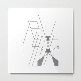 Recieve. 1of 3. on white. Metal Print