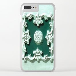 Minty Fresh Clear iPhone Case