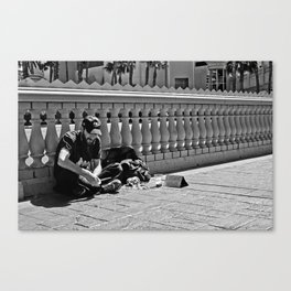 Enything in Vegas Canvas Print