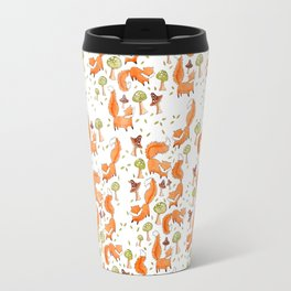 Little Foxes Travel Mug