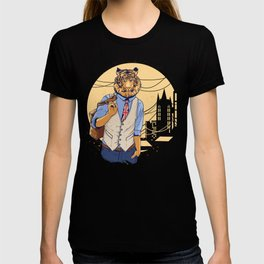 Smart British Tiger T-shirt