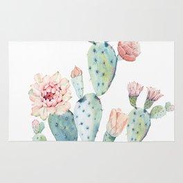 Cactus 2  White #society6 #buyart Rug