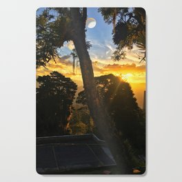 Golden Hour Cutting Board