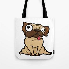 Dopey Pug Tote Bag