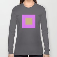 Minimalist Graphic Art Design Long Sleeve T-shirt