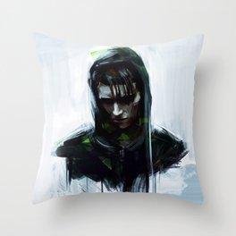 Lisbeth Salander Throw Pillow