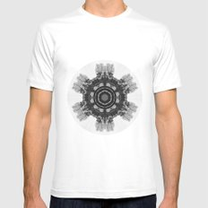 Blithewood Mens Fitted Tee White MEDIUM