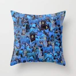 ALL THE DOGGOS Throw Pillow