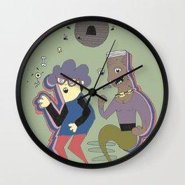 Disc-ho Wall Clock