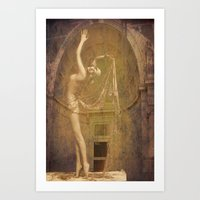 20's Beauty Art Print