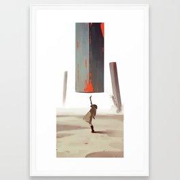 Loud Sunshine Framed Art Print