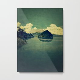 Distant Blues Metal Print