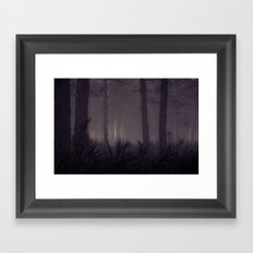 Approaching Framed Art Print