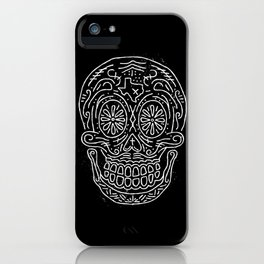 Texas Sugar Skull iPhone Case