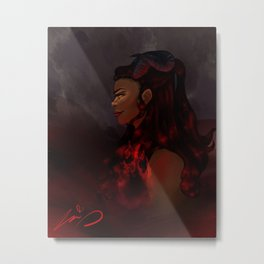 There's a Black Mark on Her Soul Metal Print