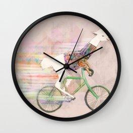 Look At Me Mom!  Wall Clock