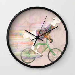 Look At Me Mom!  Wall Clock