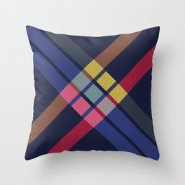 Doreda - Colorful Abstract X Art Throw Pillow