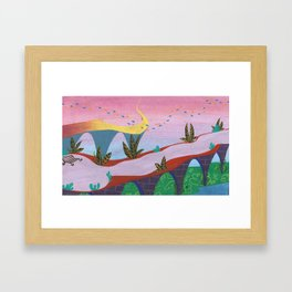 underwater place #2 Framed Art Print
