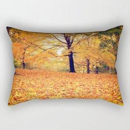 New York City Autumn Leaves Rectangular Pillow