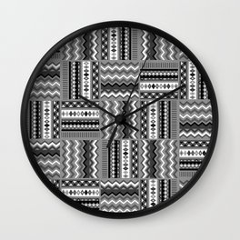 Vintage Black and White Wall Clock