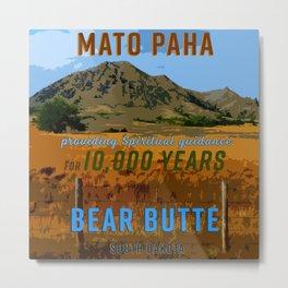 Bear Butte South Dakota Metal Print