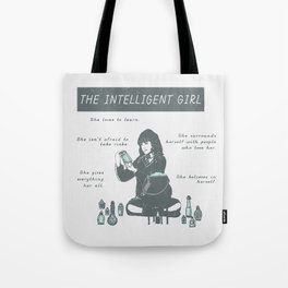Hermione Granger / The Intelligent Girl Tote Bag