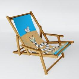 Recently Deceased Sling Chair