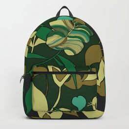 Exotic Tropical Garden Backpack