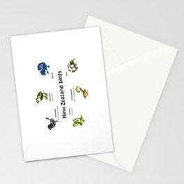 New Zealand Birds Stationery Cards