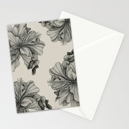 flor pattern Stationery Cards