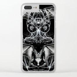 Bat Dutchess Clear iPhone Case