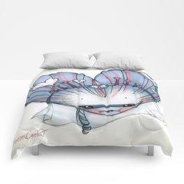 Reina de Corazones (Queen of Hearts) Comforters