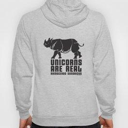 Unicorns Are Real 3 Hoody